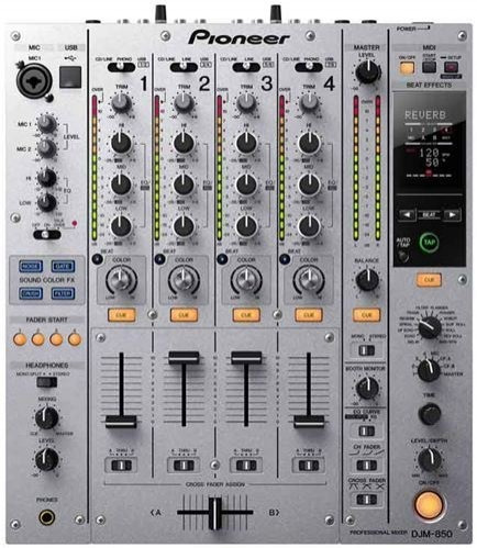 Pioneer Djm 850 Mixer Mezclador Controlador Dj Usb Laptop