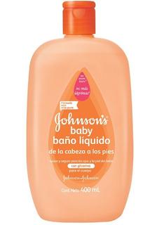 Baño Liquido Johnsons Cabeza A Pies 400gr