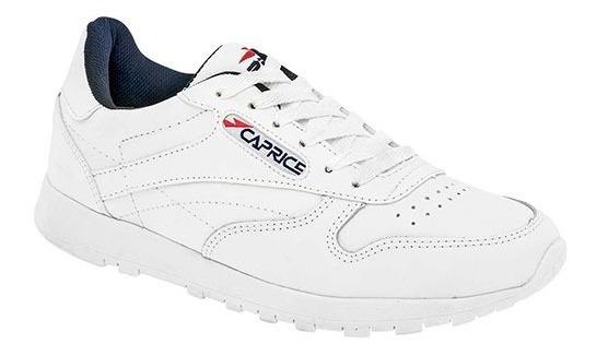 Tenis Escolar Sport Unisex Caprice C15-8201 Blanco 18-26 T4