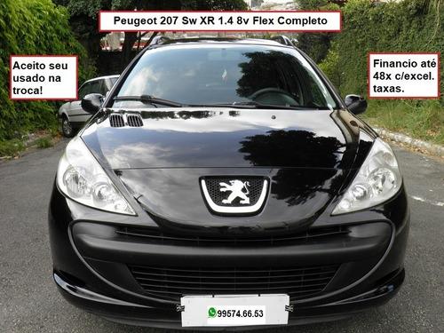 Peugeot 207 Sw Xr 1.4 8v Flex Completo