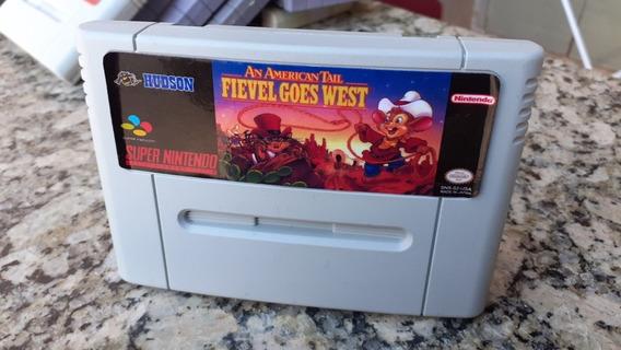 Fievel Goes West Snes Super Nintendo Paralelo
