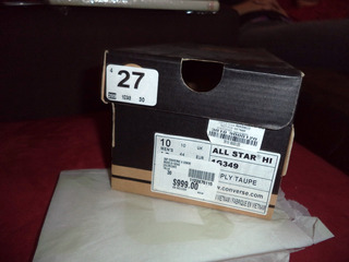 Caja Original Converse Talla 30