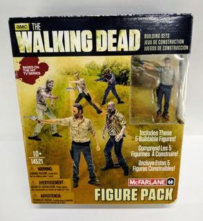 Walking Dead Set X 5 Figuras Mcfarlane Toys