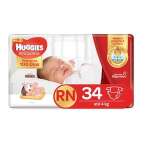 Fralda Huggies Supreme Care Rn 34 - Unidades