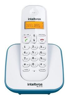 Ts 3110 Azul Telefone Sem Fio Digital Intelbras Power Trade