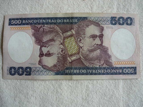 Cédula 500 Cruzeiros - 14/02/2018-388