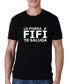 Camiseta Estampada Porra Fifí
