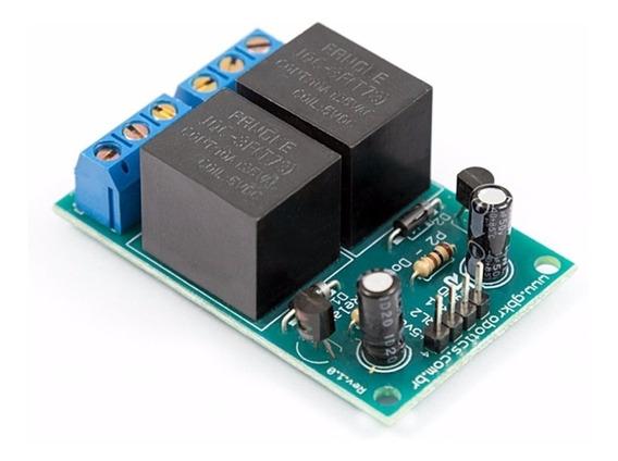 Módulo Relé Duplo 5v - 2 Canais Para Arduino Gbk Robotics