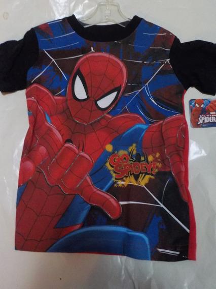 Playera Spiderman Talla 6