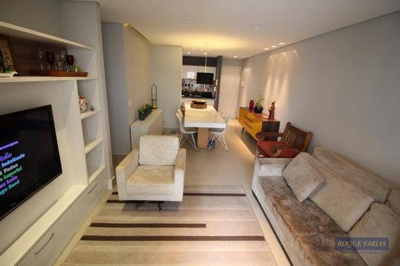 Apartamento Com 3 Dormitórios À Venda, 73 M² Por R$ 490.000,00 - Jaguaré - São Paulo/sp - Ap0012