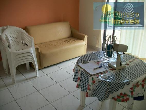 Apartamento Para Locação Em Praia Grande, Vila Caiçara, 1 Dormitório, 1 Banheiro, 1 Vaga - Ap0270