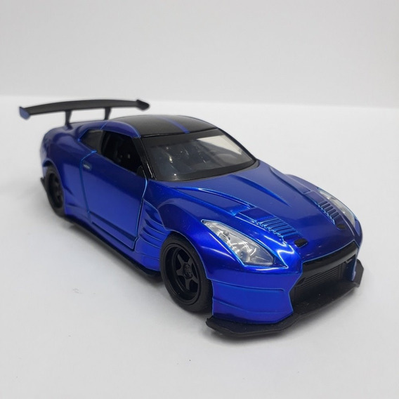 Nissan Gt-r (r35) 2009 - Velozes E Furiosos - Escala 1/32