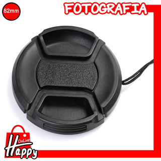 Tapa - Cubierta Para Lentes 82mm Canon/nikon/pentax/etc