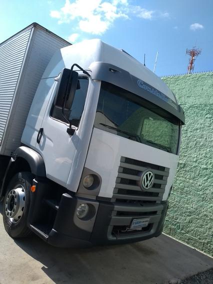 Vw 17.250 2009 Baú 8,5 Cabideiro Aceito Troca Carro Caminhão