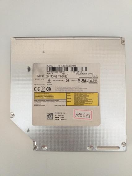 Gravador De Dvd Sata Modelo Ts-l633c/defhw - Notebook