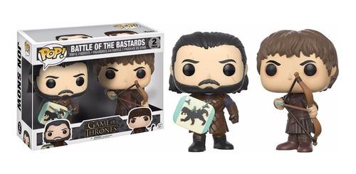Funko Pop Game Of Thrones Jon Snow La Batalla De Bastardos