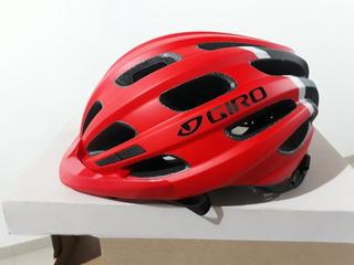 Capacete Ciclismo Giro Hale Vermelho (50-57)
