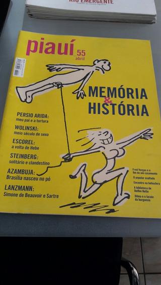 Revista Piauí 55 Abril