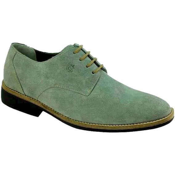 Sapato Masculino Sandro Moscoloni Grey Suede