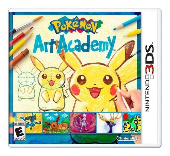 Pokémon Art Academy 3ds Mídia Física Pronta Entrega