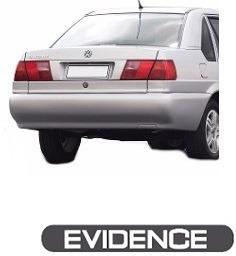 Emblema Adesivo Resinado Evidence P/ Vw Santana 1996/1999