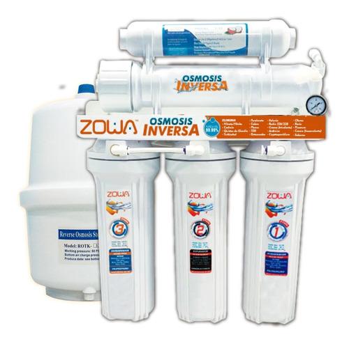 Osmosis Inversa Kit Cuello De Cisne + Kit Nevera 40 Zowa
