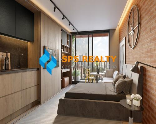 Imagem 1 de 12 de Lançamento Stúdio 25m E 2 Dorm. Ao Lado Do Shopping Eldorado - Sp - Ca0005_spreal