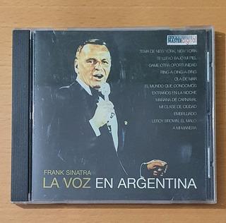 Frank Sinatra La Voz En La Argentina Cd