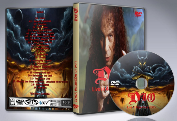Dvd Dio - Live In Argentina 2001