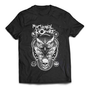 Camiseta My Chemical Romance Owl Mcr Rock Activity