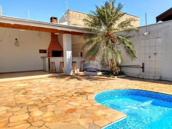 Casa Com 3 Dormitórios À Venda, 306 M² Por R$ 650.000,00 - Jardim Nossa Senhora De Fátima - Nova Odessa/sp - Ca0031