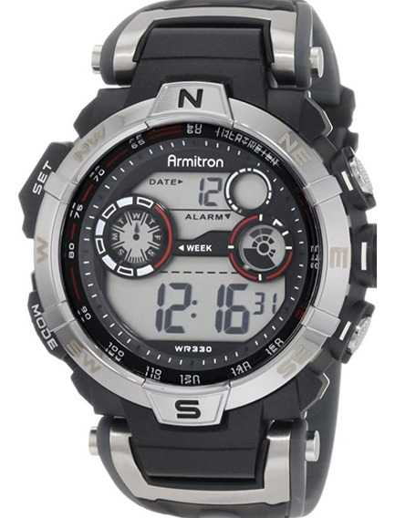 Relógio Digital Masculino Armitron Sport A Prova Dágua