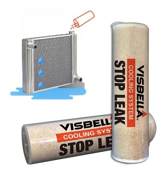 Selante Tapa Furo Vazamento Reparo Radiador Visbel Stop Leak