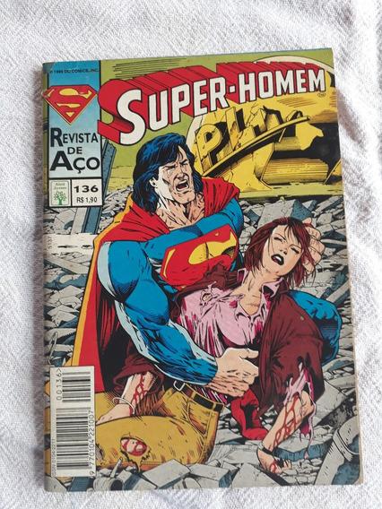 Gibi Antigo Raro Super-homem 136 De 1995