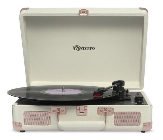 Toca Discos Raveo Sonetto Rose Gold Bivolt 10 Watts