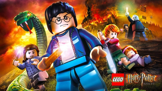 Lego Harry Potter: Years 1-7 Steam Cd Key 100% Original Pc