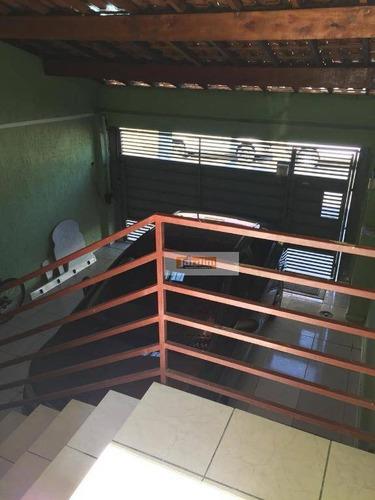 Imagem 1 de 1 de Sobrado Residencial À Venda, Vila Tupi, São Bernardo Do Campo. - So2327