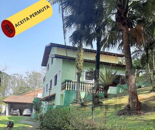 Chácara Para Venda Em Ribeirão Pires, Santa Luzia, 3 Dormitórios, 3 Banheiros, 6 Vagas - 847_1-1749950
