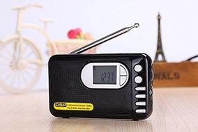 Rádio Shouyu Dp-182 Mp3 Player Am/fm/sw Preto Frete Grátis