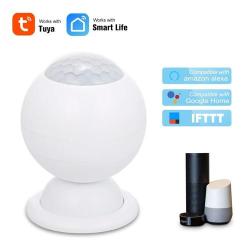 Imagen 1 de 6 de Alarma Sensor De Movimiento Seguridad Wifi Pir Inalámbrico