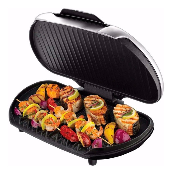Parrilla Grill Panini Electrico George Foreman Gr2144p