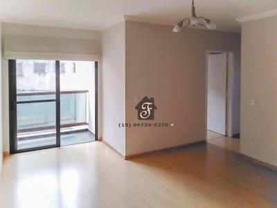 Apartamento Com 3 Dormitórios À Venda, 78 M² - Jardim Proença - Campinas/sp - Ap1253