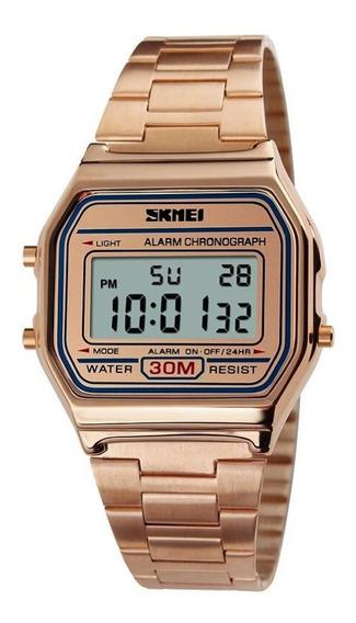 Relógio Feminino Skmei Digital 1123 - Rosê