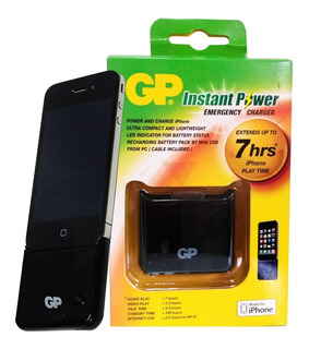 Cargador Portátil Usb Gp Insta Power Gpxpb04 Para iPhone