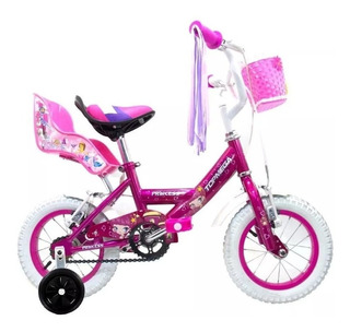 Bicicleta Niña Topmega Princess Rodado 12