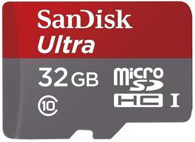 Cartão De Memória Micro Sd Hc 32 Gb Classe10 Ultra Original