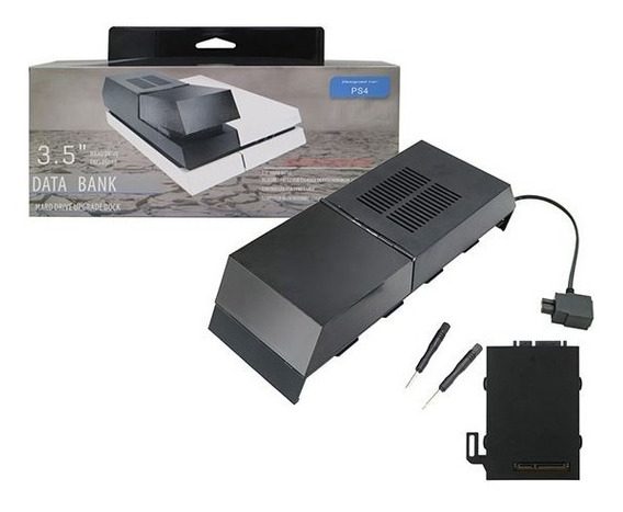 Data Bank Modular Playstation 4 Fat Case Externo P/ Hd 3,5