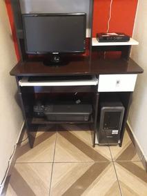 Computador, Impressora, Tela, Cpu E Móveis Para Computador