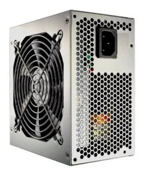 Fonte Atx 200w Com Cooler 120mm Pc 20+4 Pinos 2sata