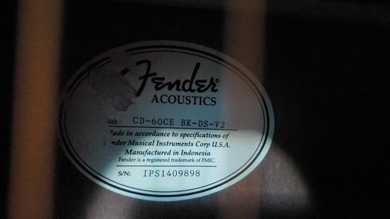 Guitarra Fender Cd-60 Ce